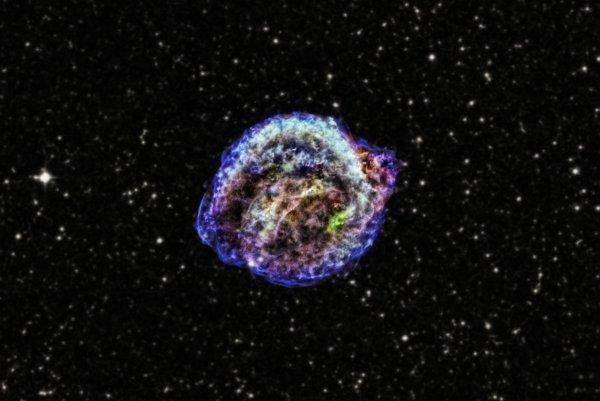 Kepler Supernova Remnant NASA Chandra 031813