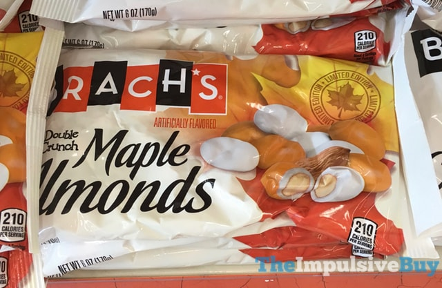 Brach's Limited Edition Double Crunch Maple Almonds