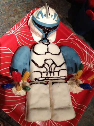 Lego Captain Rex Cake