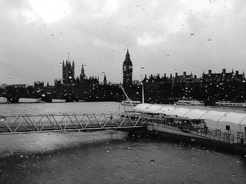 Rainy Day in London by Fitzrovia