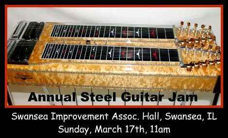 Steel Guitar Jam 3-17-13