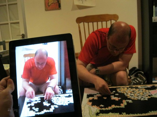 puzzeling - new verb