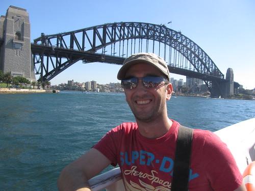 kiki on the ferry