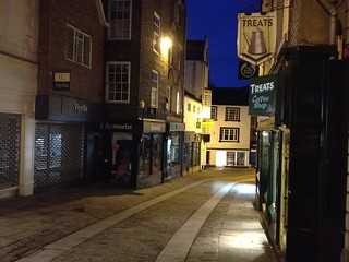 Silver Street at 6am, Durham