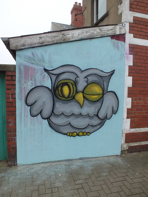 Enta Street Art at Chapter, Canton, Cardiff