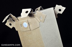 Big Scale Danboard Cardboard Assembling Kit Review (40)