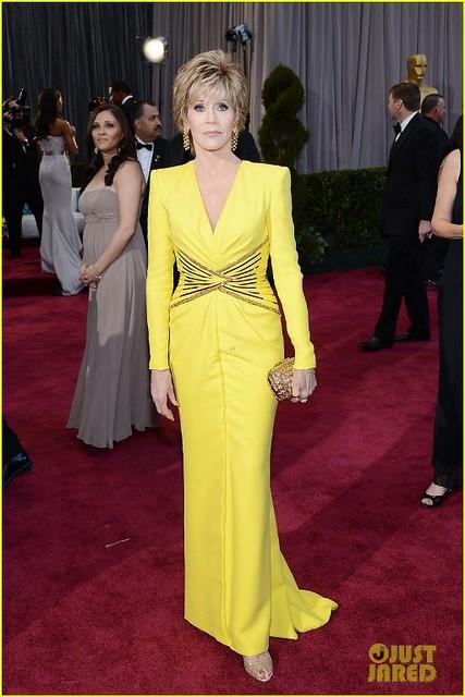 Джейн Фонда в Versace