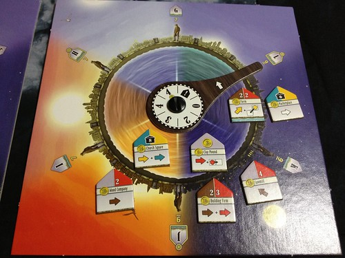 Le Havre: Inland Port solo starting G round