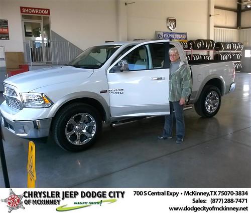 Congratulations to Carole Kowitt on the 2013 Dodge Ram by Dodge City McKinney Texas