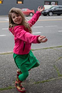 Dancing at the Bus Stop