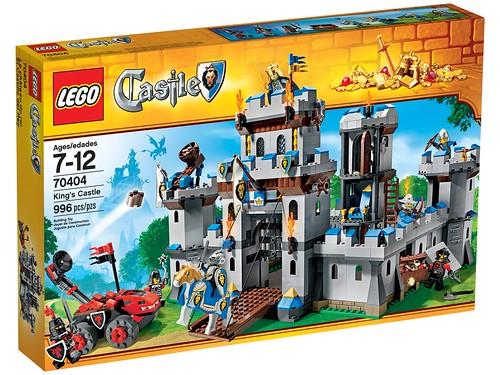 LEGO Castle 2013 70404 King's Castle Box