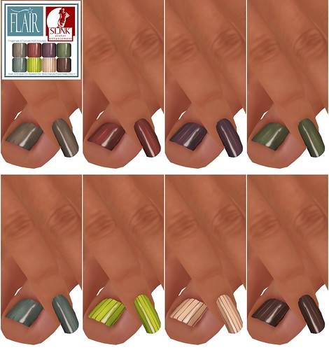 Flair - Nails Set 32
