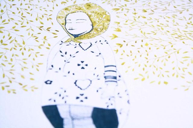 mellow angle detail illustration stella pereira