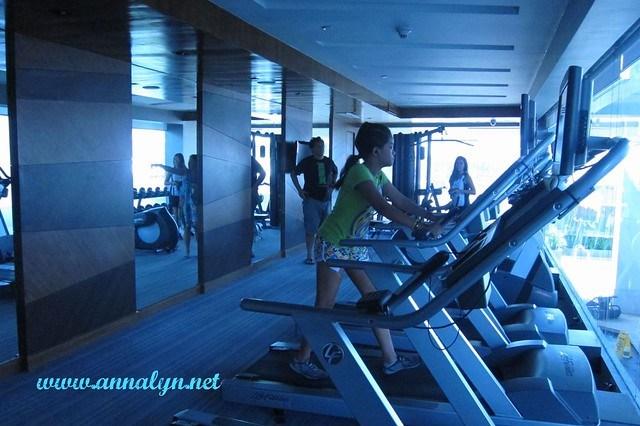 F1 Hotel gym2