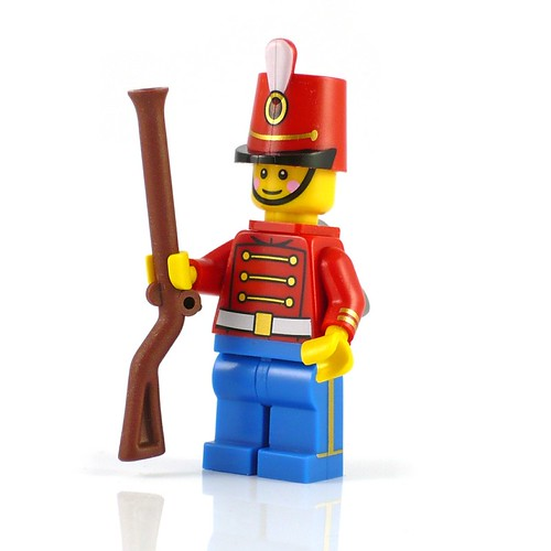LEGO Minifigures Character Encyclopedia Toy Soldier 02