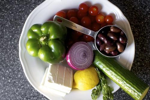 crisp vegetable matter
