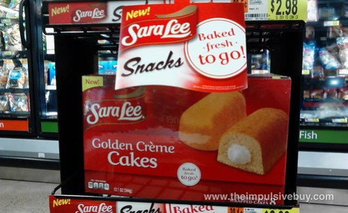 Sara Lee Golden Creme Cakes