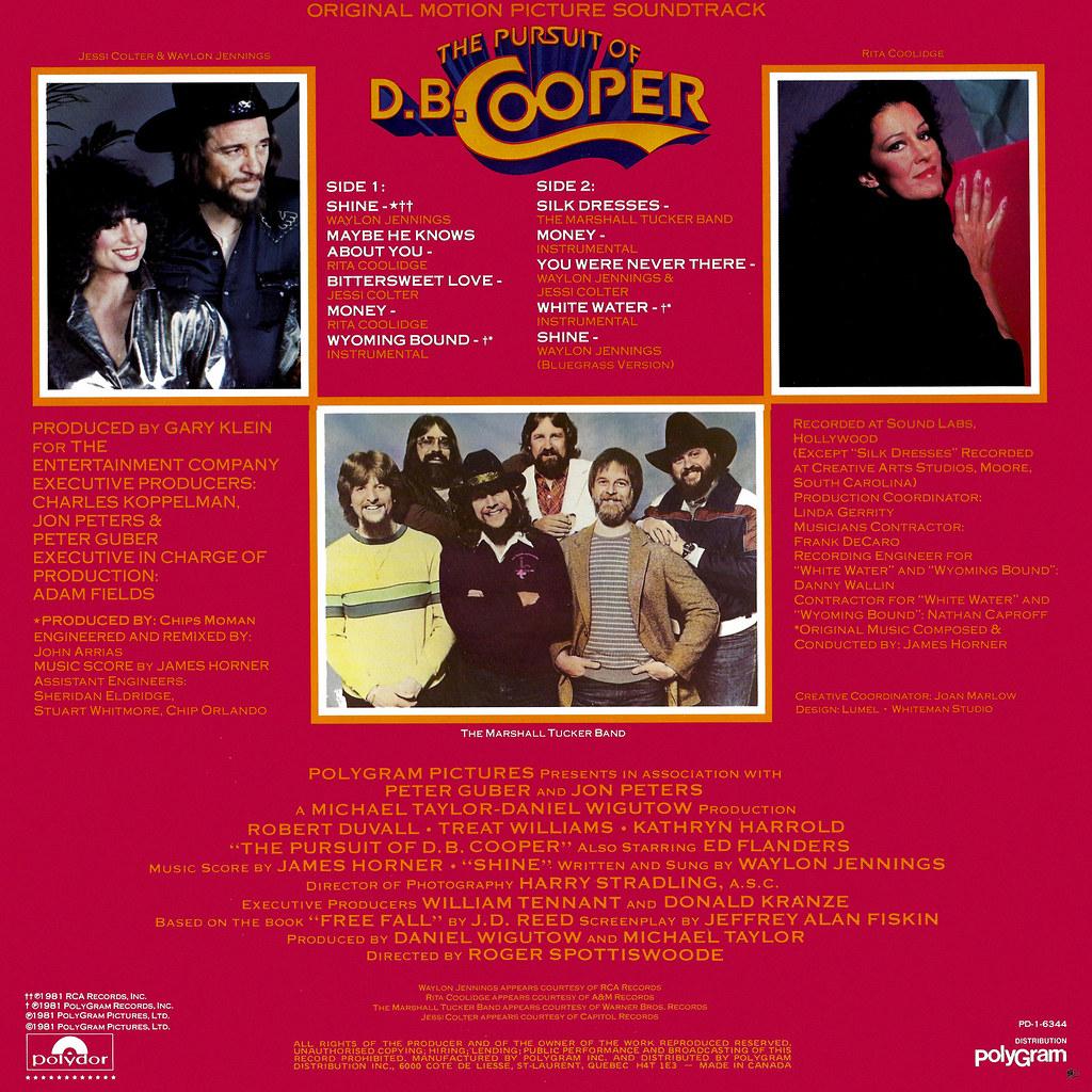 James Horner - The Pursuit of D. B. Cooper