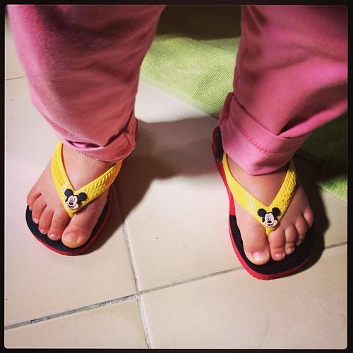 Mickey da cabeça aos pés