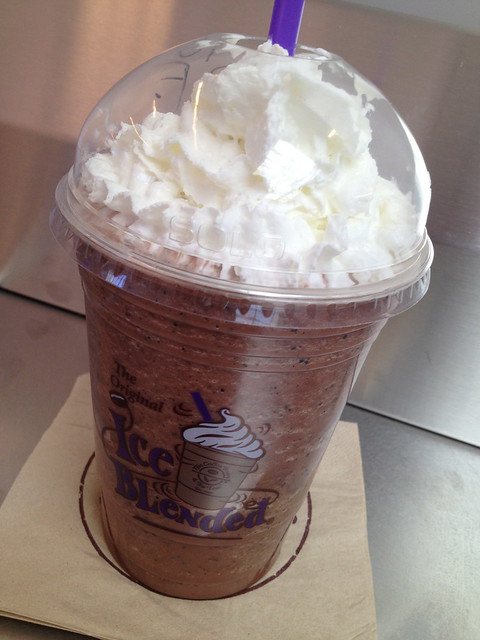 Black forest ice blended drink - The Coffee Bean & Tea Leaf