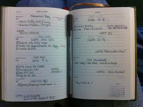 My Plannerd Week 22