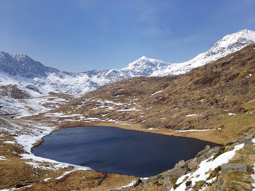 Llyn Teyrn, Miners' Track, Snowdonia, Pen-y-Pass