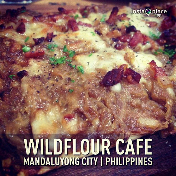 Bacon Torte (caramelized onions) #instaplace #instaplaceapp #instagood #photooftheday #instamood #picoftheday #instadaily #photo #instacool #instapic #picture #pic @instaplaceapp #place #earth #world  #philippines #mandaluyongcity #wildflourcafe #food #fo