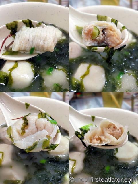 4 kinds of fish balls soup HK$40-001