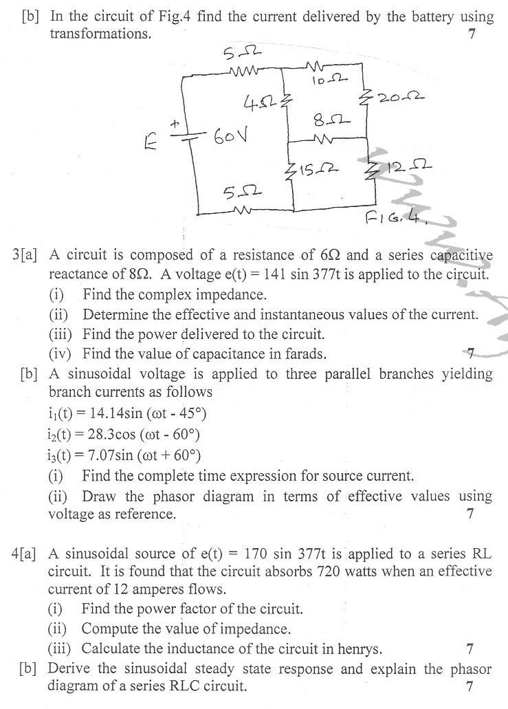 DTU Question Papers 2010 – 4 Semester - End Sem - CE-212