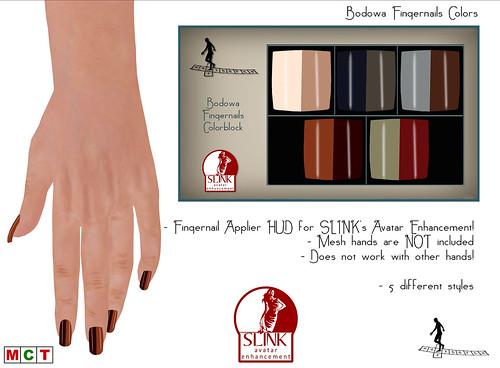 Bodowa Fingernails Colors