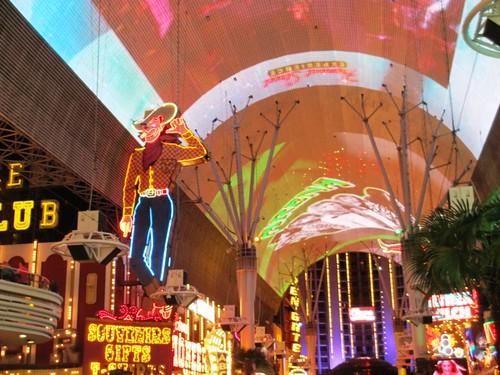 Fremont Street, Las Vegas, April 2013