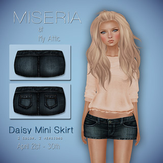 Miseria - Daisy Mini Skirt  - My Attic @ The Deck