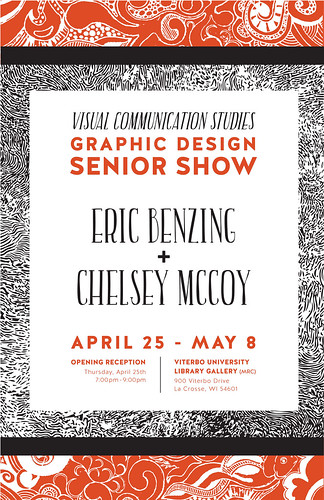 Senior Show in the Library--4/25/13