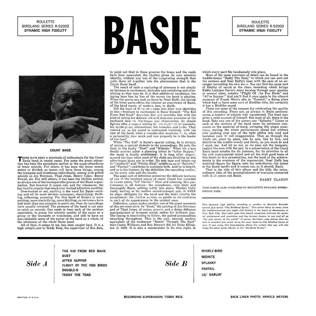 Count Basie - Basie b
