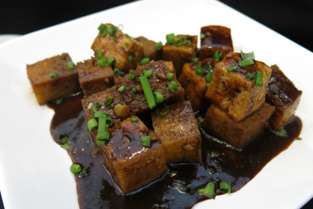 5 Spice Tofu at Singapore Food Street