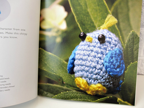 Bird (Mini Amigurumi - Sara Scales)