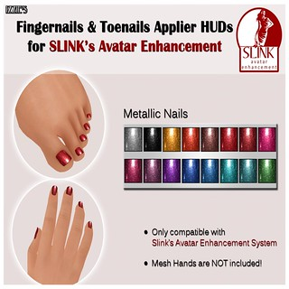 Izzie's - Slink Metallic Nails  Huds  - My Attic @ The Deck