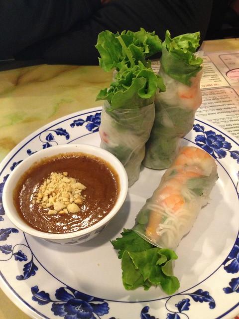 Shrimp spring rolls - Pho Big Bowl