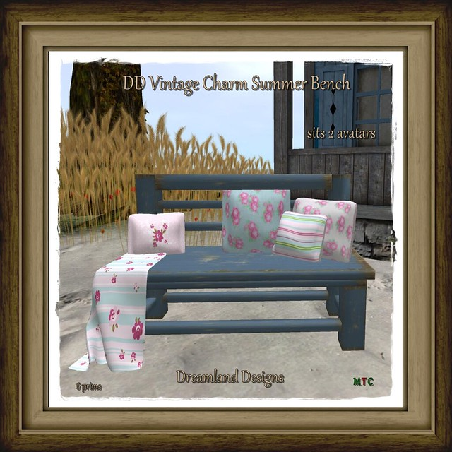 DD Vintage Charm Summer Bench_001A Vendor pic