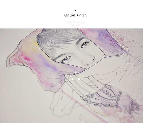 XOXO Yixing fanart - Details