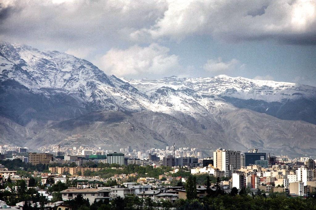 Smoggy Tehran