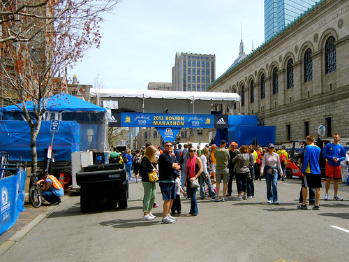 Maratón de Boston 2012