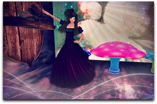 Nyria Dress + Snail Mount + Petite Shroom