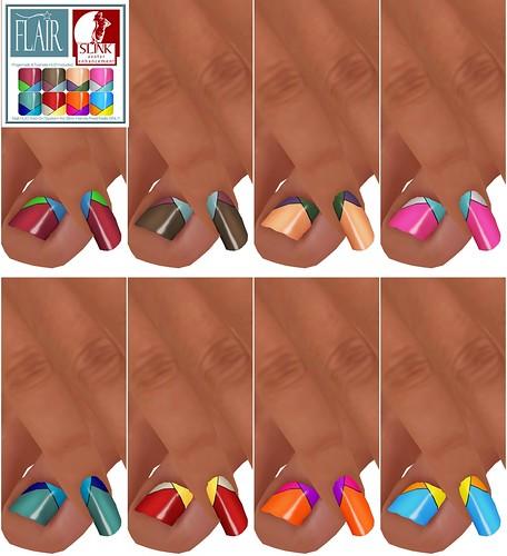Flair - Nails Set 34