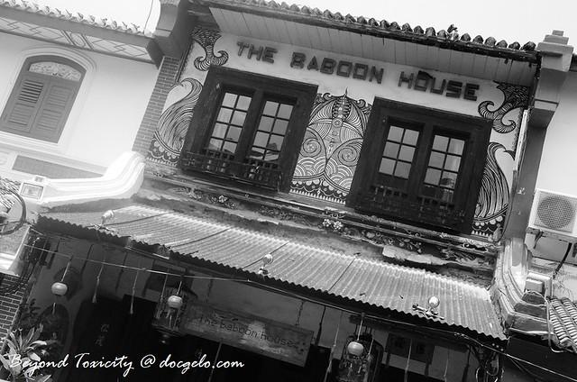 the baboon house, malacca