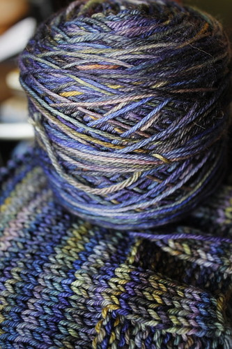 20130414. Splurge yarn for splurge sweater.