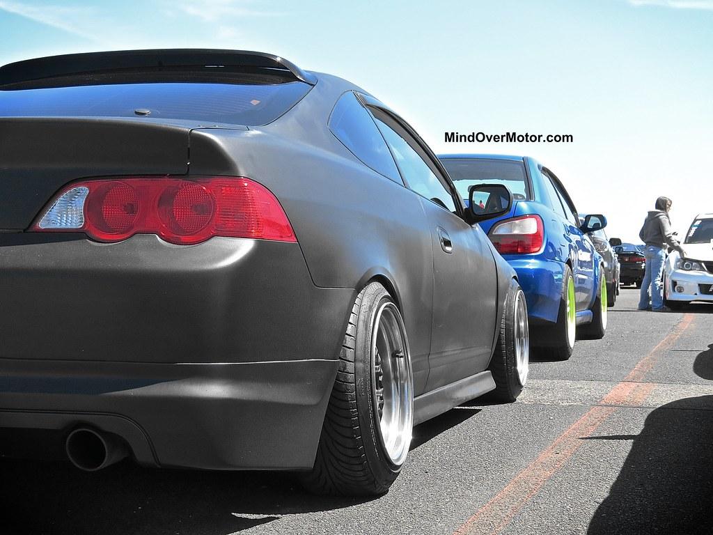 Slammed Acura Integra