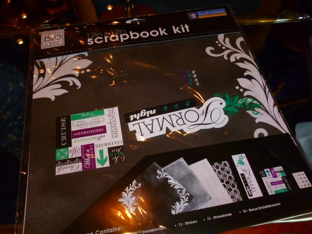 Scrapbook Kit from Royal Caribbean
