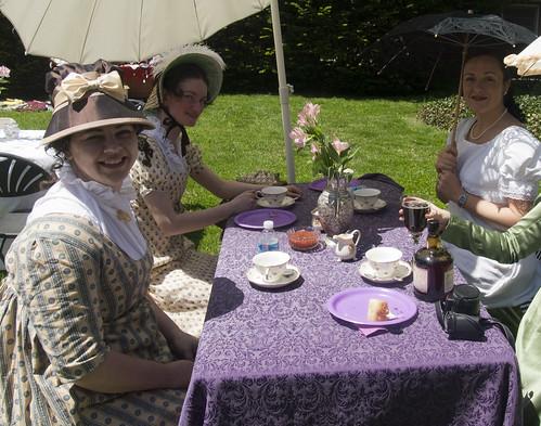 Ladies and Their Tea