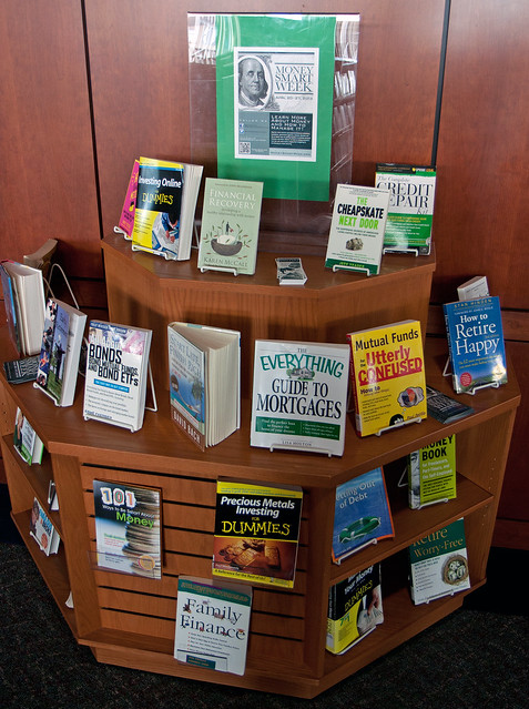 Money Smart Week Book Display